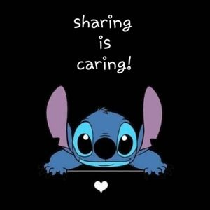 Sharing helps..